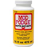 Mod Podge CS11302 Waterbase Sealer, Glue and Finish, 16 oz, Matte...
