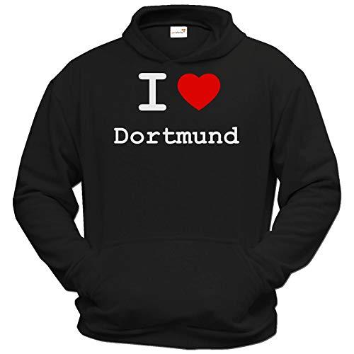 getshirts - Best of - Hoodie - Love - I Love Dortmund - schwarz XXXL