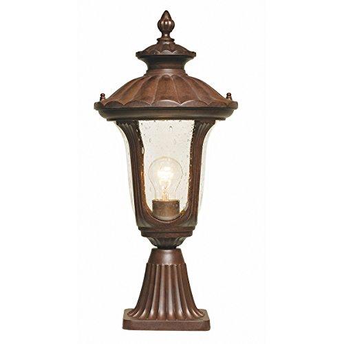 Chicago Pedestal Lantern Size: Small