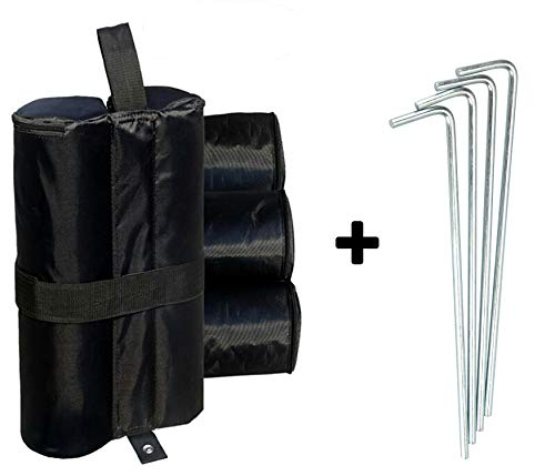 4 Pack Leg Weight Bags for Pop up Canopy Sand Bags for Tent