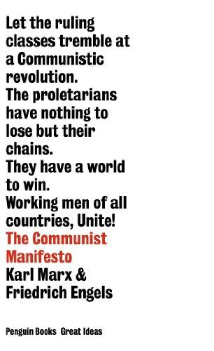 Great Ideas Communist Manifesto (Penguin Great Ideas)