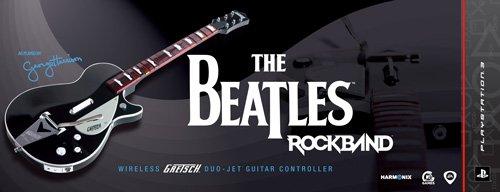 The Beatles: Rock Band PS3 Wireless Gretsch Duo-Jet Guitar Controller [import américain]