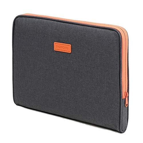 Zhangl Netbook Tas A220 Series 14-15.4 inch Waterdichte Polyester Laptop Tas, Afmetingen: 38,0 x 26,5 x 2,5 cm (Donkergrijs) Netbook Tas