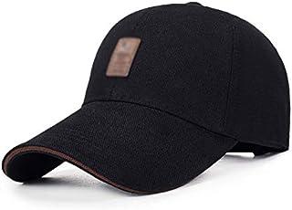 قبعة بيسبول قطنية بسيطة للجنسين لممارسة الرياضة في الهواء الطلق والترفيه.