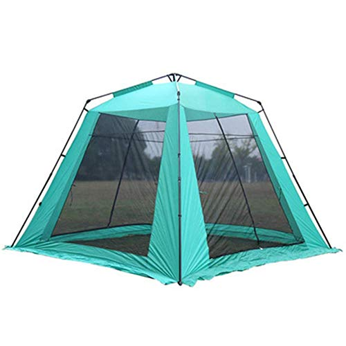 YXDEW Camping Tent,Automatic Instant Pop Up Camping Shelter Beach Tent Large Size For 5-8 Person Waterproof Anti UV Family Tent camping