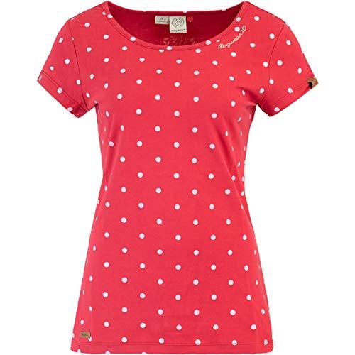 Ragwear Mint Dots Top Damen (L, red)