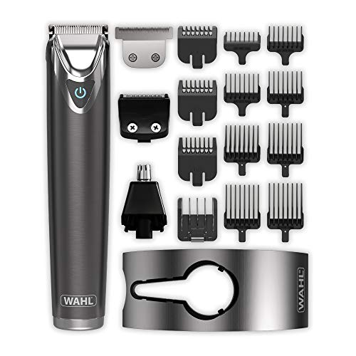 Wahl Beard Trimmer Men, Real Stainless Steel 9-in-1 Hair Trimmers for Men,...