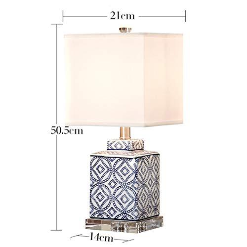 JASZHAO Mode-Moderne LED-Tischlampe für das Schlafzimmer Wohnzimmer Nachttischlfer Dekoration Beleuchtung E27 Tischleuchten
