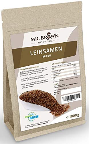 GB-Foods GmbH -  Mr. Brown Leinsamen