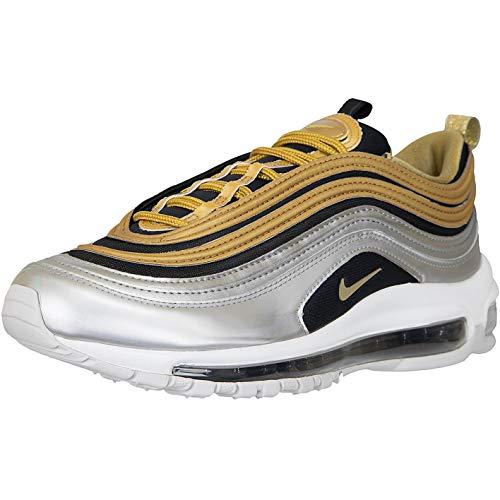 Nike Air Max 97 Sneaker Trainer (40 EU, Silber Gold)