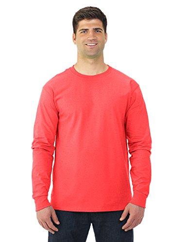 Fruit of the Loom 5 oz.Heavy Cotton HD Long-Sleeve T-Shirt (4930) -Retro Heat -XL