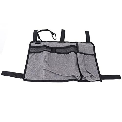 Wosune Bolsa de Almacenamiento para sillas de Ruedas, Accesorios para sillas de Ruedas Bolsa de Andador Resistente al Desgaste para Almacenamiento para sillas de Ruedas