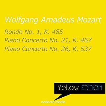 Yellow Edition - Mozart: Rondo No. 1, K. 485 & Piano Concertos Nos. 21, 26