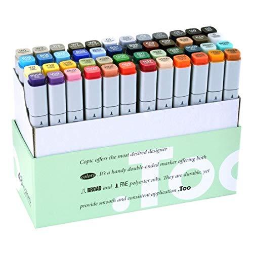 Copic Markers - Juego de 48 rotuladores