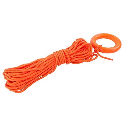 Yyqtgg Cuerda Salvavidas, Cuerda roja para Escalar en Roca Cuerda de Pulsera de Gran Espesor rentable con Fibra de Polipropileno