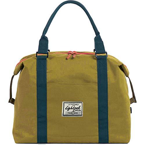 Lightpak damestas SWEETBOX, dames handtas gemaakt van polyester, handtas met apart vak voor mobiele telefoon sporttas, 36 cm, geel