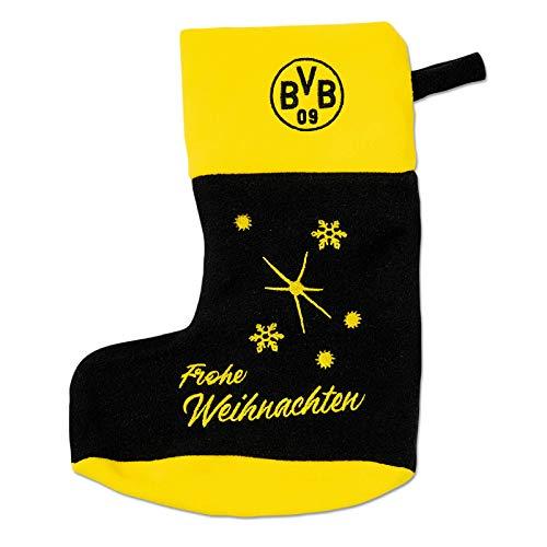 Borussia Dortmund BVB Strumpf/Socke/Weihnachtssocke/Weihnachtsstrumpf ** Frohe Weihnachten **