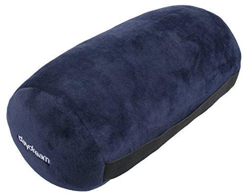 daydream N-8003 Nackenrolle mit Mikroperlen aus elastischem Nicki, dunkelblau