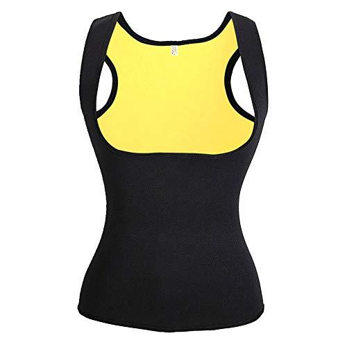 Saunaanzüge für Damen Corsage Korsett Bauchweg Training Taillenkorsett abnehmen Shirt Taillenformer Fitness Taillenmieder für Gewicht Loss, Figurformender Damen-Body Gewichtsreduzierung