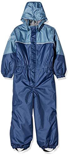 Color Kids Jungen Padded Schneeanzug Jacke, Blau (Estate Blue 188), (Herstellergröße: 128)