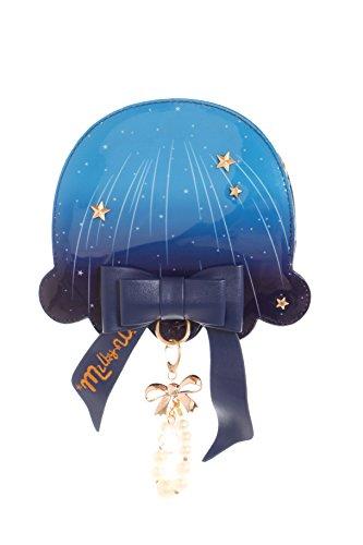 Kawaii-Story LB-95-1 - Bolso al hombro para mujer Azul azul Maßen ca.21x19x6cm