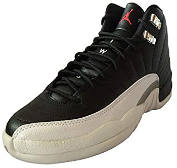 Air Jordan 12 Retro Playoffs  Black/Varsity Red-White   5.5Y GS