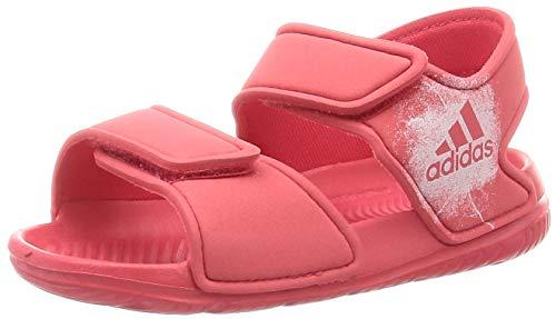 Adidas Altaswim I, Sandalias Unisex niños, Rosa (Core Pink/Core Pink/FTWR White Core Pink/Core Pink/FTWR White), 27 EU