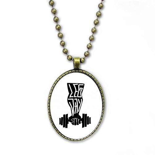 Halteeinrichtung für Hebezeuge Halskette Vintage Chain Bead Anhänger Schmuckkollektion
