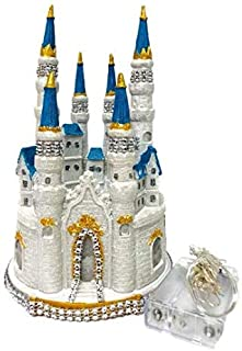 Fairytale Dream Wedding Castle Centerpiece with Lights and Bling