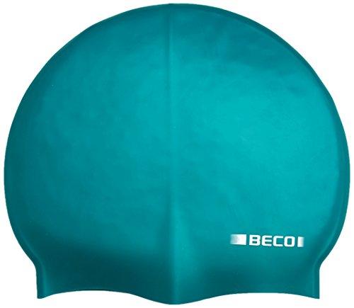 Beco Beermann GmbH & Co. KG Kinder Silikonhauben, unifarbig Kappe, grün, One Size