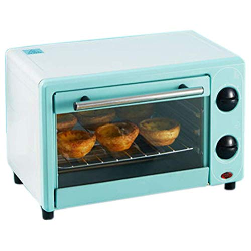 Riyyow 12l Mini-Backofen, Multifunktions-Kleiner Ofen, der schnell erhitzt, um Zeit zu sparen, Arbeitsplatte, leicht zu reinigen, leicht zu reinigen und keinen Platz aufzunehmen, Konvektionsofen
