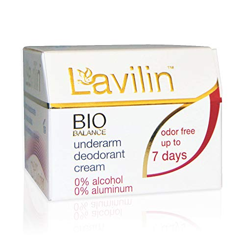 Lavilin Underarm Deodorant Cream - Aluminum Free Deodorant for Women and Men, Up to 7 Days Odor Control – Alcohol, Paraben and Cruelty-Free, 12.5 gr