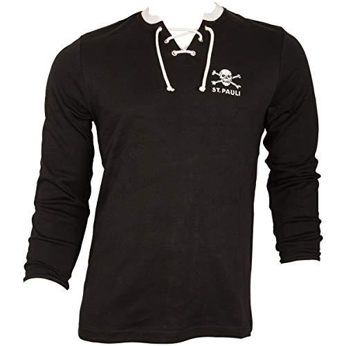 1967 1967 Pauli Logoshirt T-Shirt Braccio di Ferro PO Design Originale Concesso su Licenza Maglia Popeye Pauli St PO Maglietta Girocollo Nero St