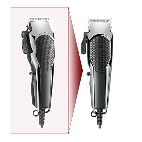 ZCFXGHH High-Power-elektrische Haarschneider Professionelle Leiter Shear DC Wired Haushaltshaarschneider Trimmer einstellbar für