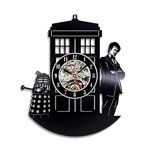 Doctor Who TV Series Vinyl Wall Clock