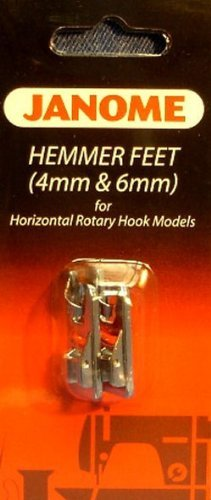 Janome Top-Load - Hemmer Foot Set 4mm & 6mm