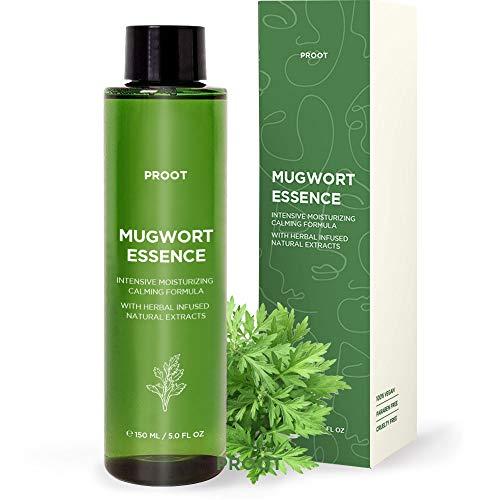 Mugwort Essence   59.5% Real Mugwort Extract   Treatment for Sensitive & Acne Prone Skin   Formulated with Mugwort Extract, Witch Hazel, Centella Asiatica   Korean Skin Care, Cruelty-Free   5.0 oz
