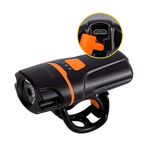 Smallboutique Mini Faros de Bicicleta USB Recargable Juego de Luces de Bicicleta para conducción Nocturna Impermeable