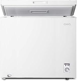 CHiQ Congelador FCF142D, 142 litros, blanco, bajo consumo A+, 40 db, 12 años de garantía en el compresor (142 Litros)