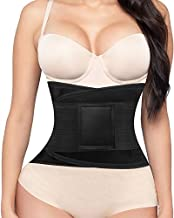 Women's Waist Trainer Belt, Back Brace for Lower Back Pain, Waist Trimmer for Weight Loss, Slimming Body Shaper Belt
