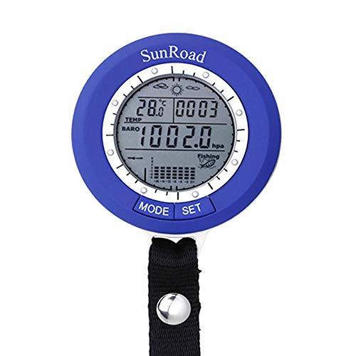 N//A Angeln Barometer Digital Handheld Multifunktionale Wettervorhersage Höhenmesser Detektor Barometer Thermometer Drucktester für Outdoor Bergsteigen