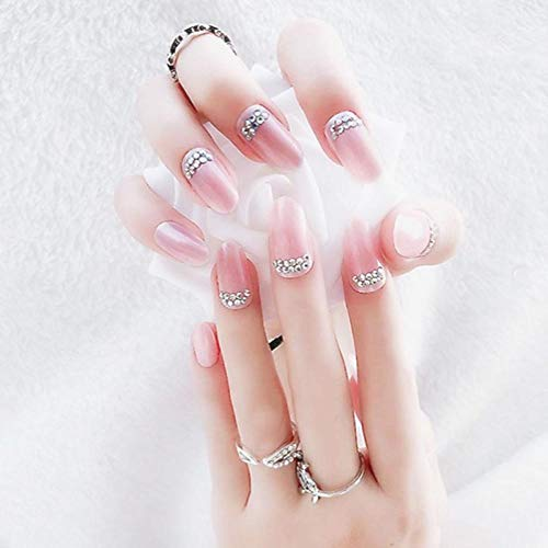 NBKLSD Uñas Falsas Boda y diseño de uñas Falsas Artificiales de plástico...