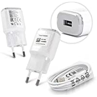 LG Cargador de Carga/Cable de Datos 2.0 micro USB 1800 mAh para LG G2/G3/G4 Color Blanco