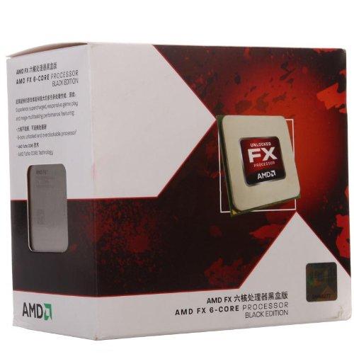 AMD FX 6200 6-Core Black Edition Prozessor (3,8GHz, Sockel AM3+, L2-Cache, 125 Watt)