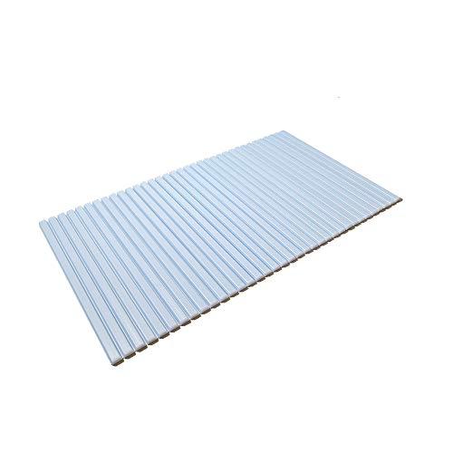 東プレ シャッター式風呂ふた ブルー 70×119cm M12
