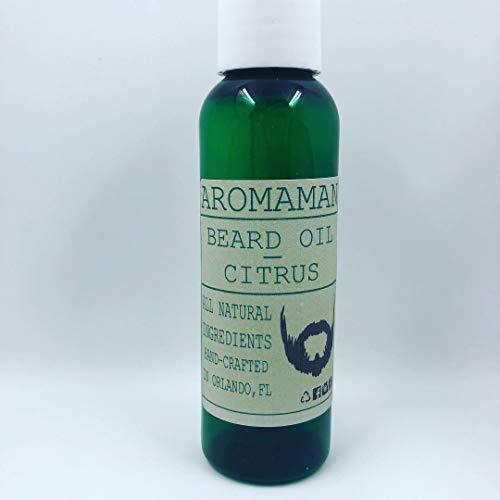 Aromaman All-Natural Homemade Beard Oils. Choose a Blend. 2 oz Bottle.