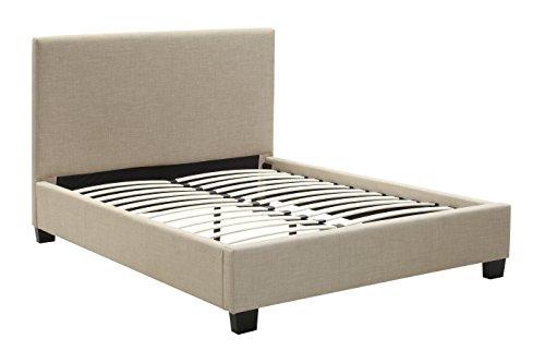 Modus Furniture Saint Pierre Linen Headboard, California King, Toast