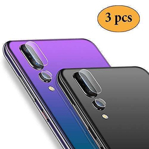 puissant Newseego 3x Pack Huawei P20 Pro Caméra de recul en verre trempé 2.5D Verre anti-rayures…