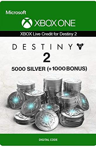 Xbox Live Guthaben für Destiny 2: 5000 (+1000 Bonus) Silber Xbox One/Windows 10 PC - Download Code
