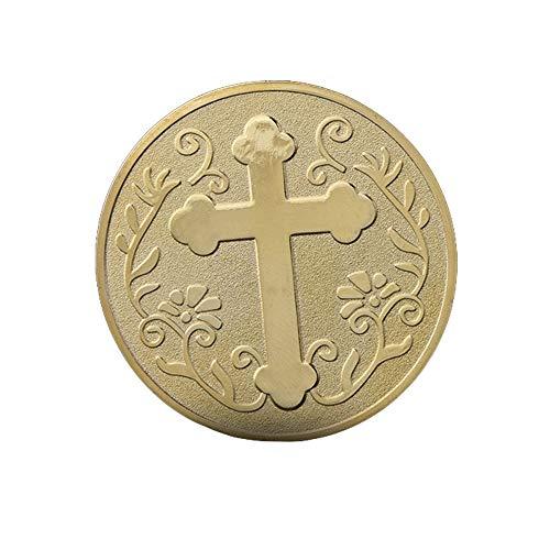 Gott,Münze,Viel Glück,Kreuz,Sammlung,Reise,Gedenkmünze,Herausforderung,Vitrine,Christian,Wächter,40Mm Passen/A/Einheitlicher Code